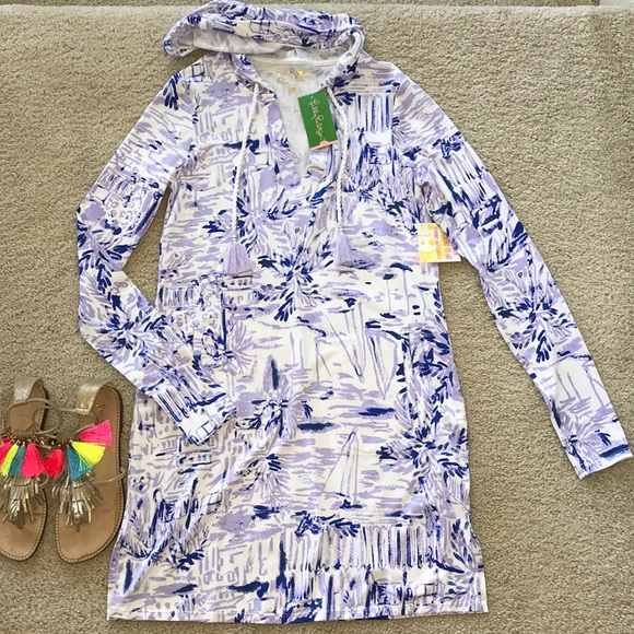 Lilly Pulitzer Dresses & Skirts - Lilly Pulitzer UPF 50+ Rylie CoverUp Dress